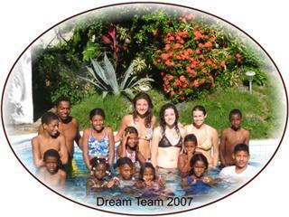 Dream Team had access to our pool.